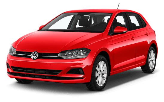 vw polo frontansicht