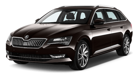 skoda superb laurin und klement front