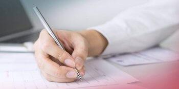 unterschrift eines leasingvertrags