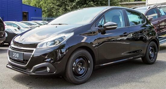Peugeot 208 frontansicht