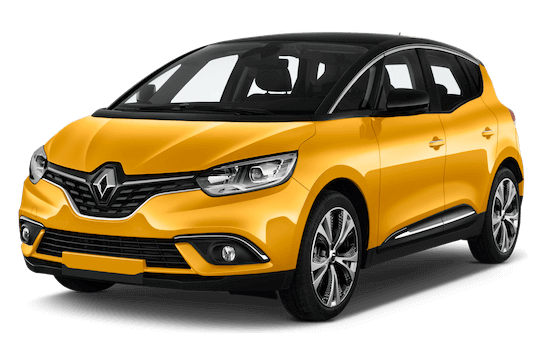 renault scenic frontansicht