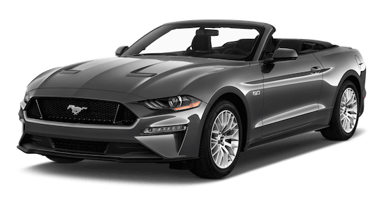 ford mustang frontansicht