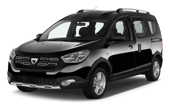 dacia dokker frontansicht