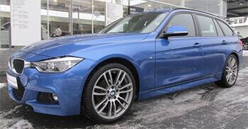 320da in blau