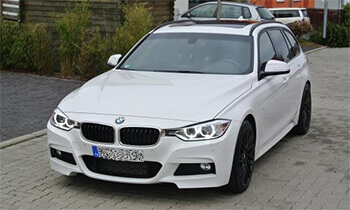 bmw 325 touring in weiss