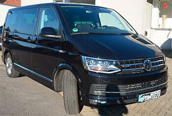 T6 Multivan von VW in schwarz